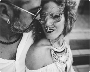 italian elopement couple