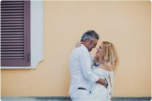 Italian elopement couple