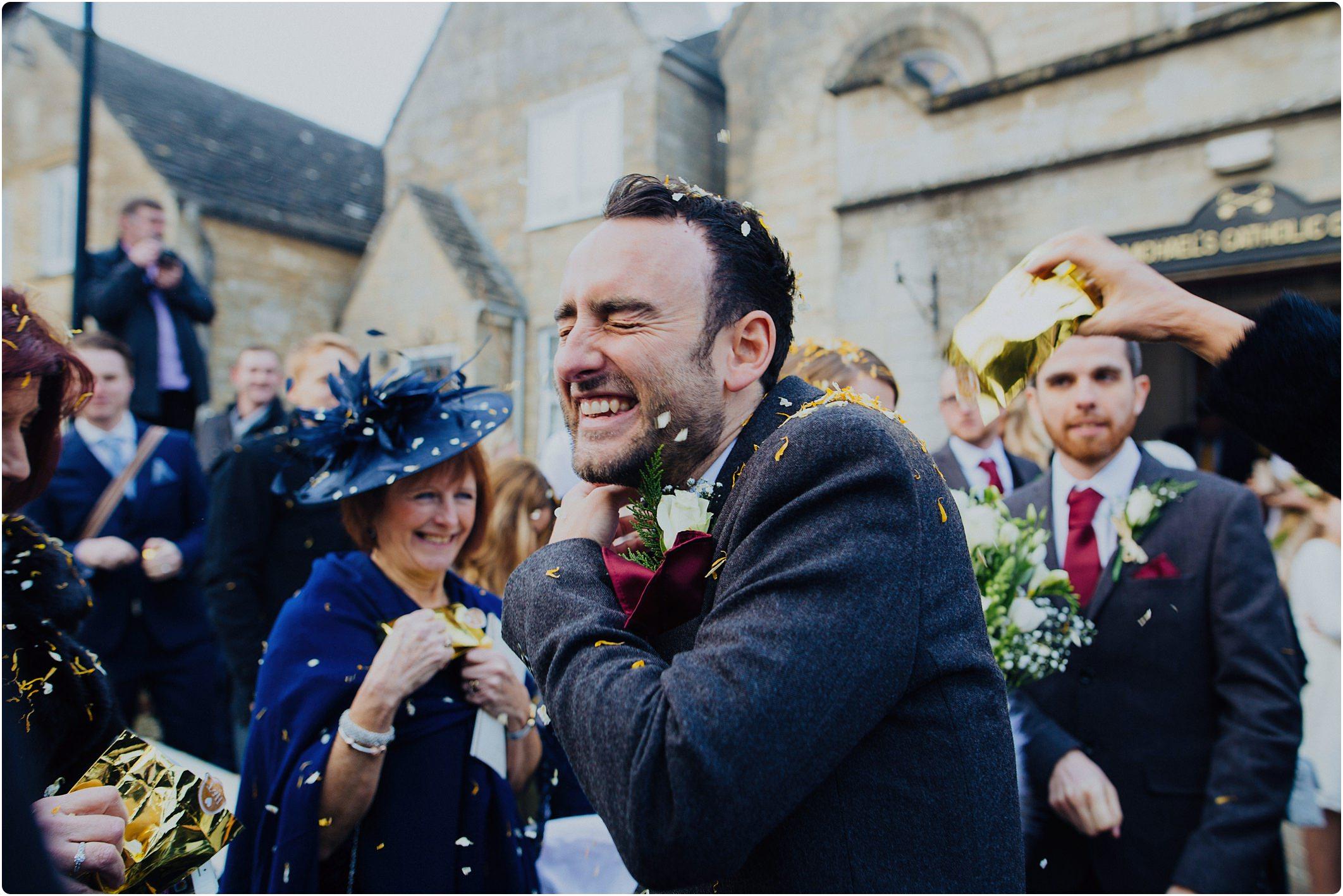 groom confetti