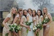 bridesmaids bridal party great tythe barn