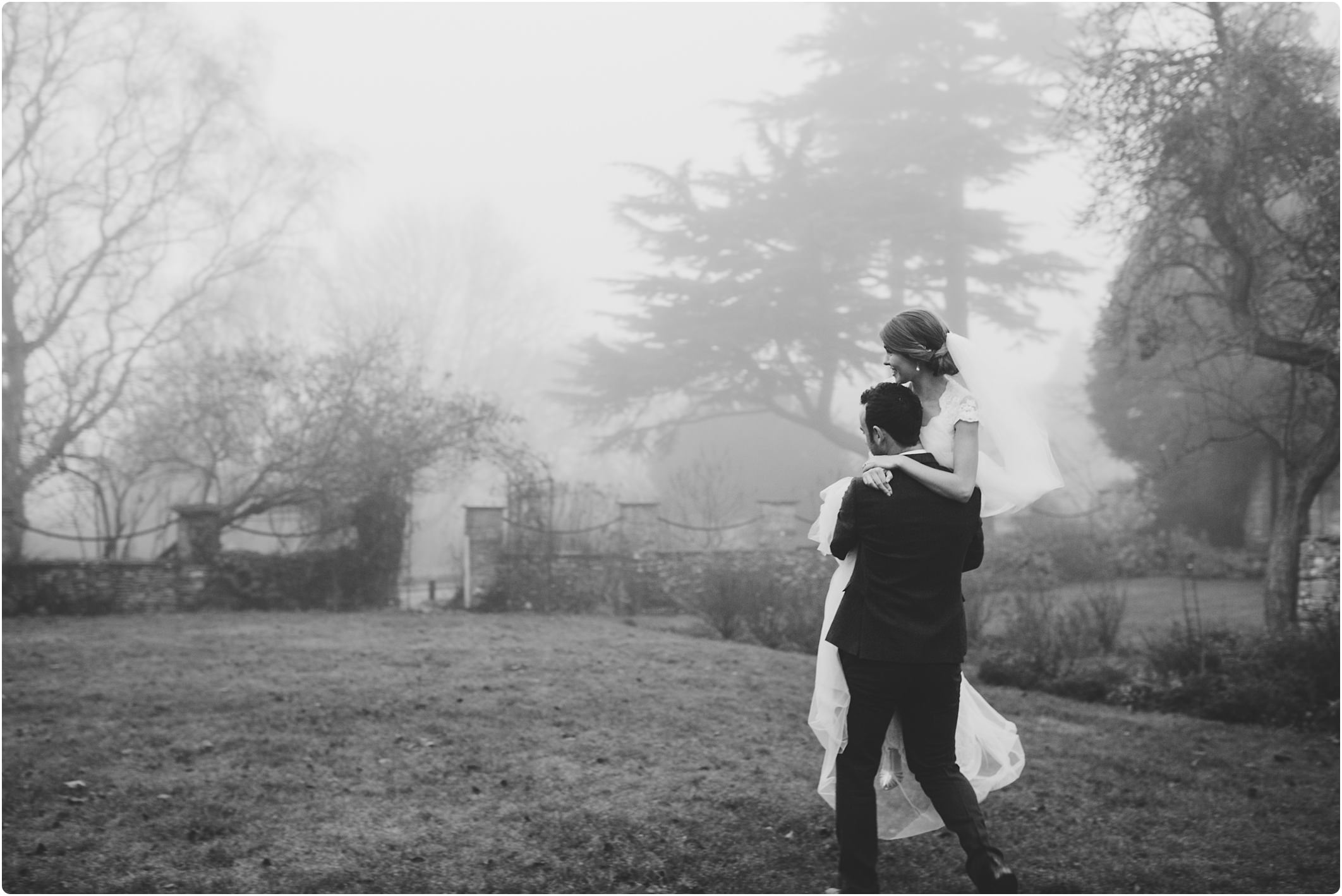 misty couple shot