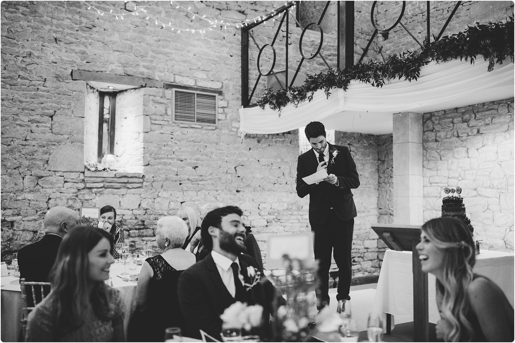 great tythe barn wedding speeches