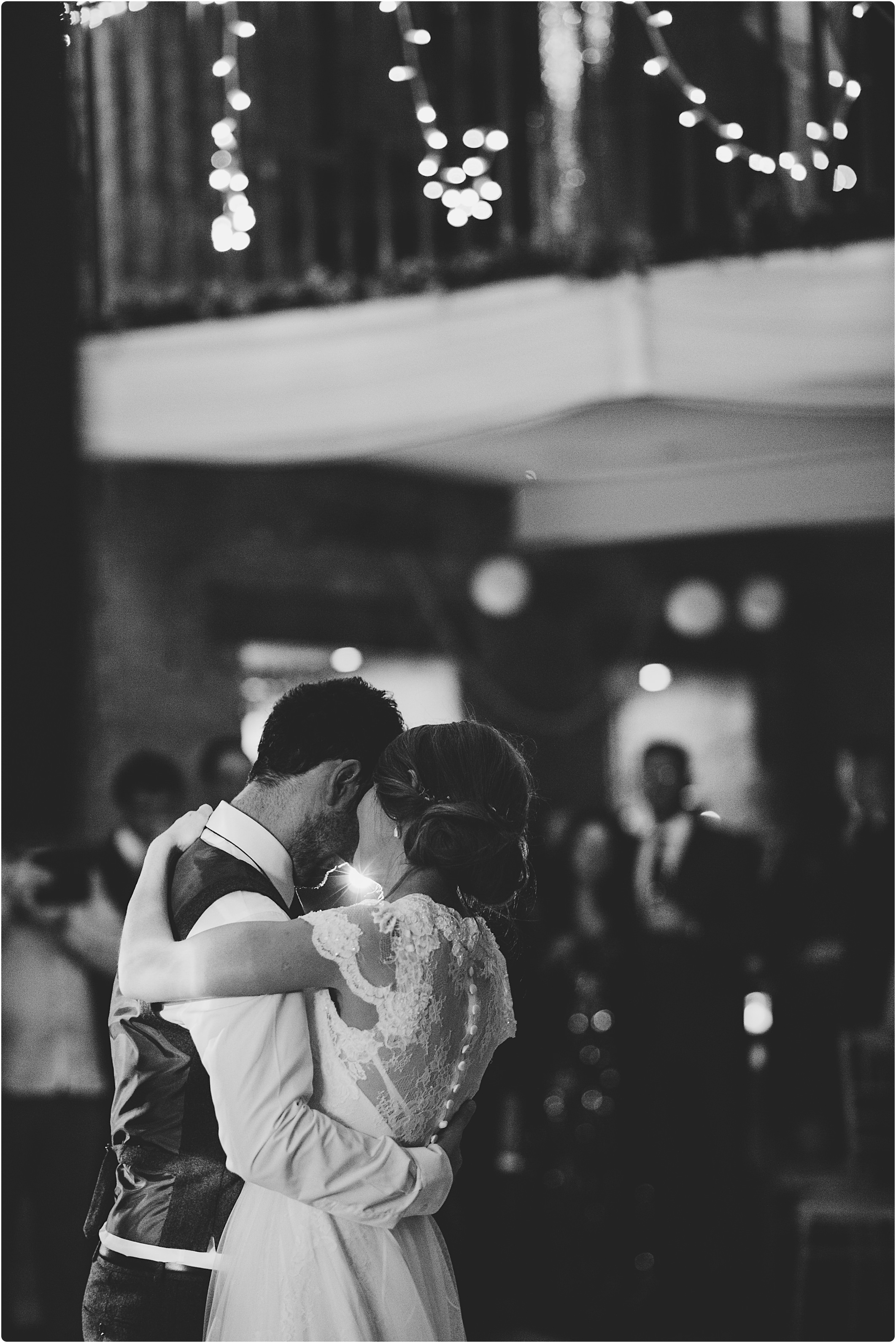 great tythe barn wedding first dance