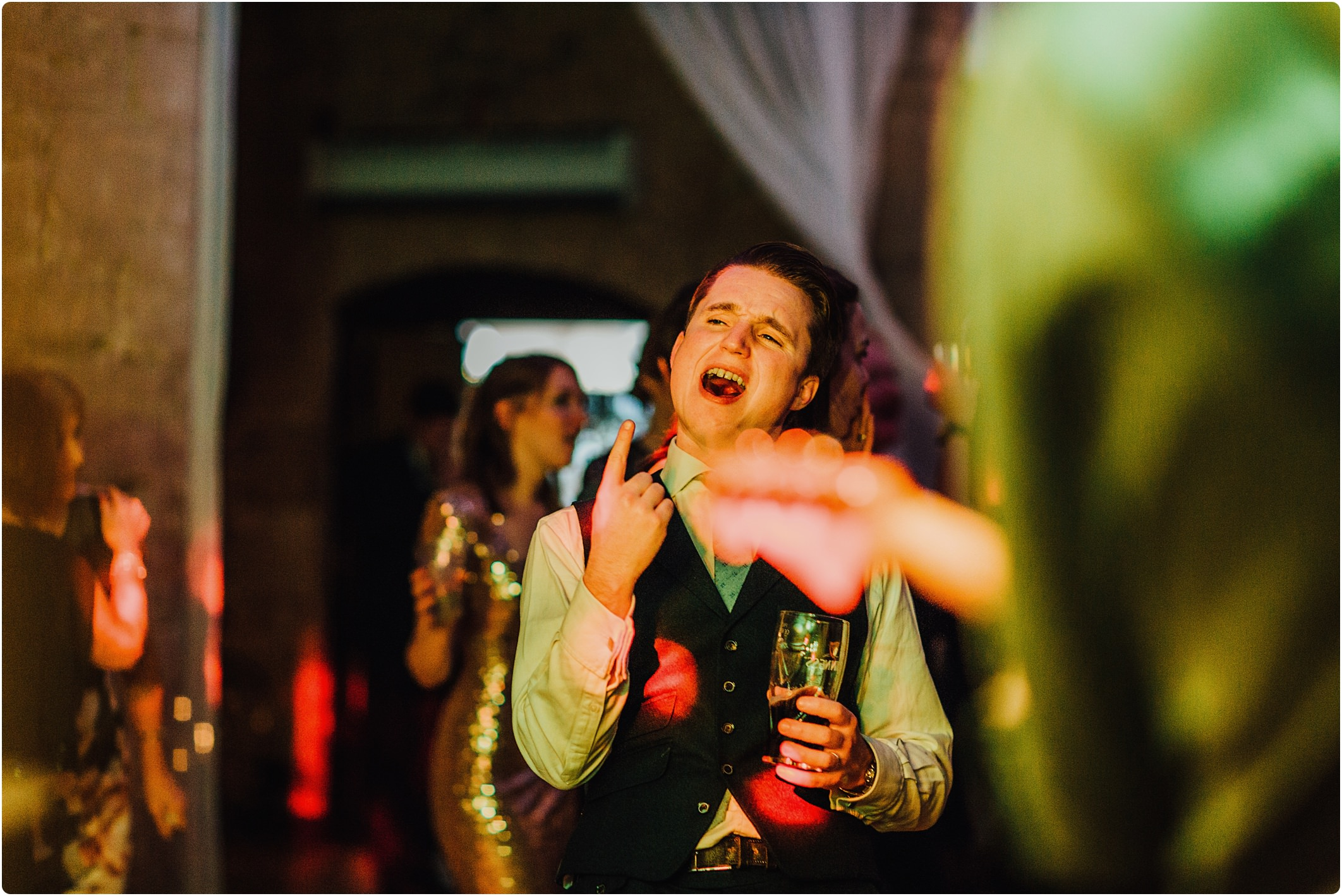 great tythe barn wedding dancing