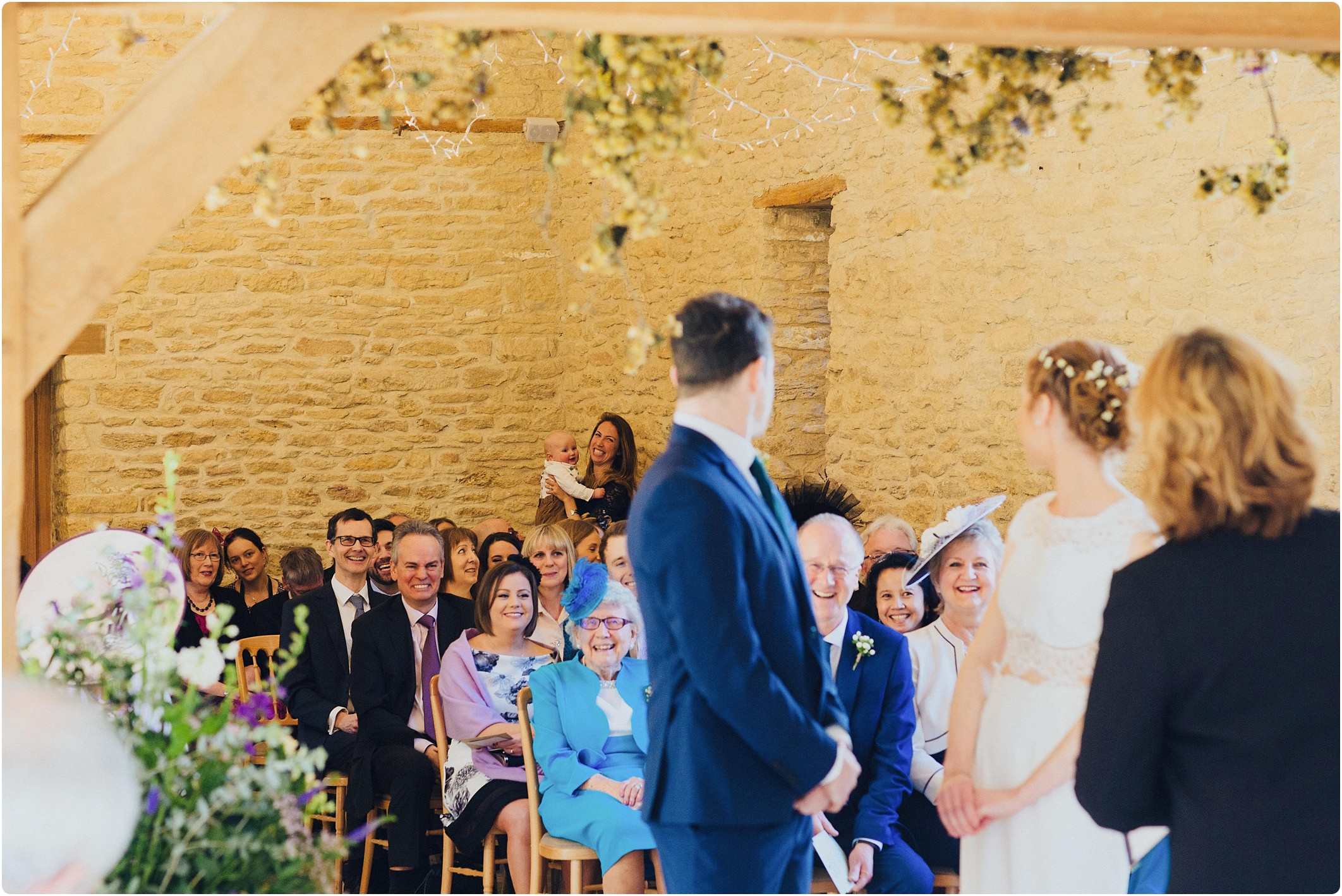 kingscote indoor spring ceremony