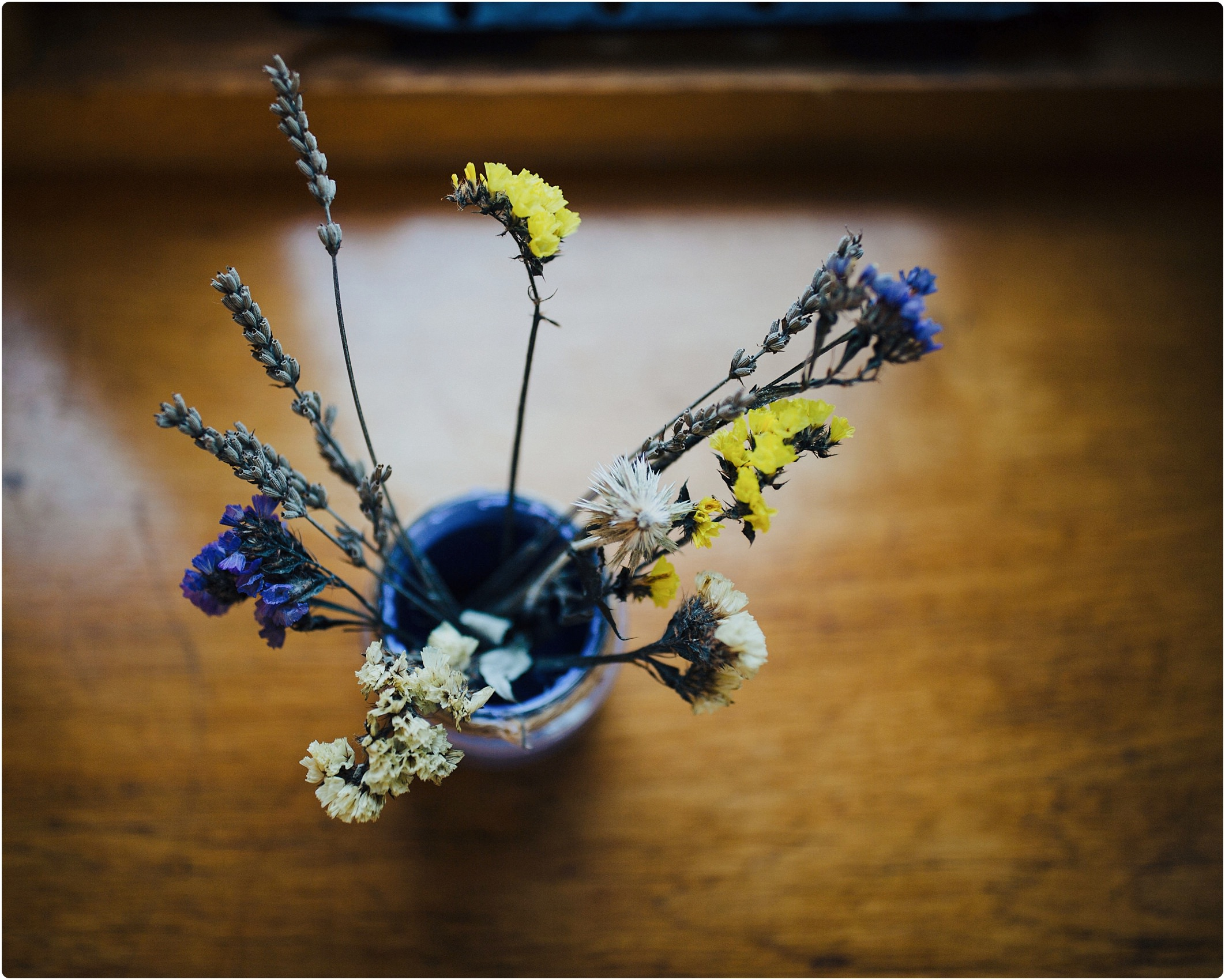 wild flower wedding decoration