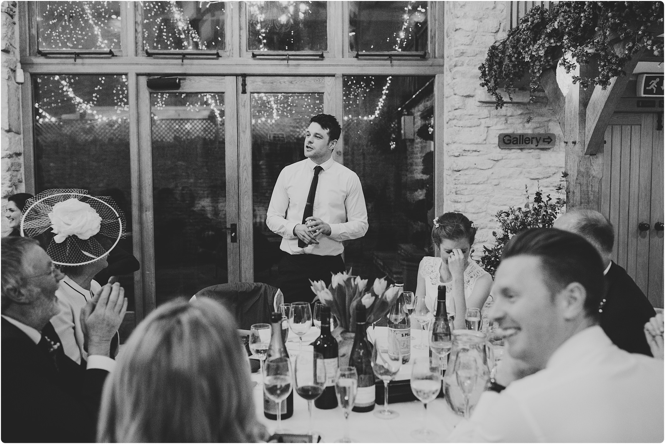grooms speech at kingscote