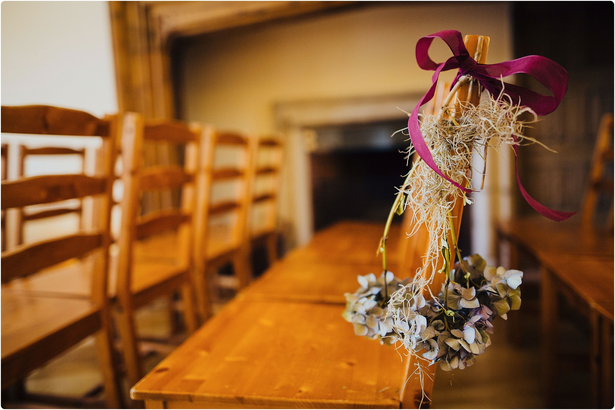 indoor ceremony flower decorations