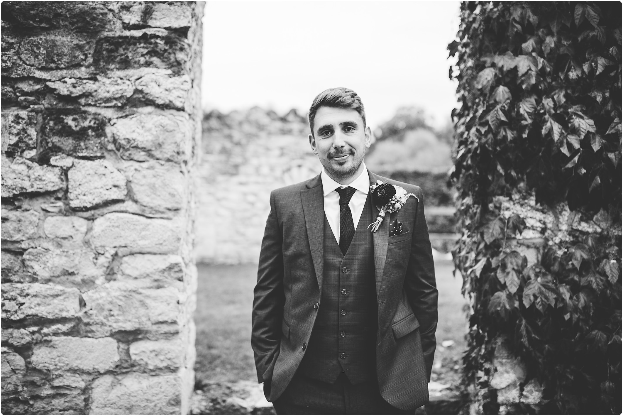 notley abbey wedding groom