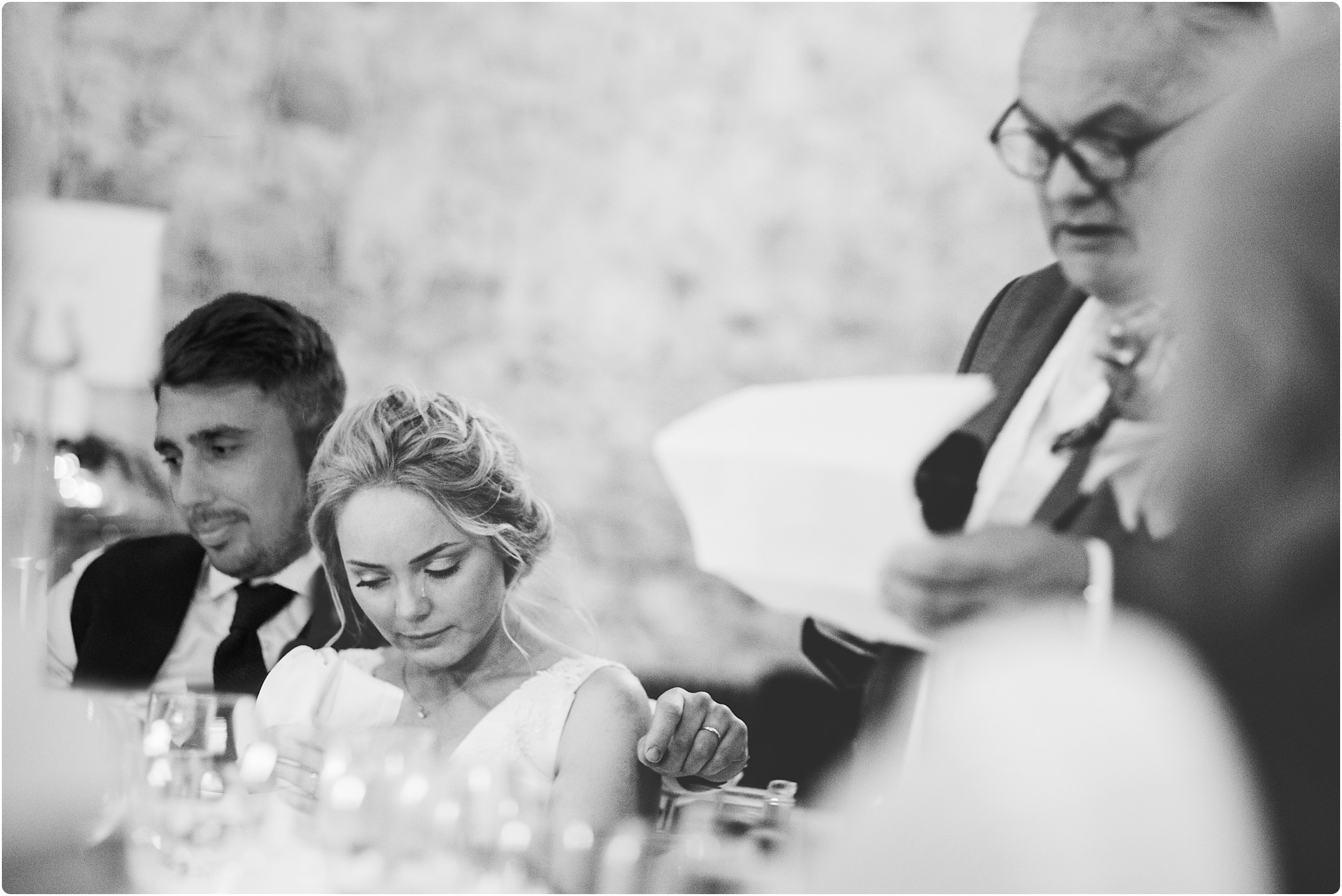 notley abbey wedding speeches