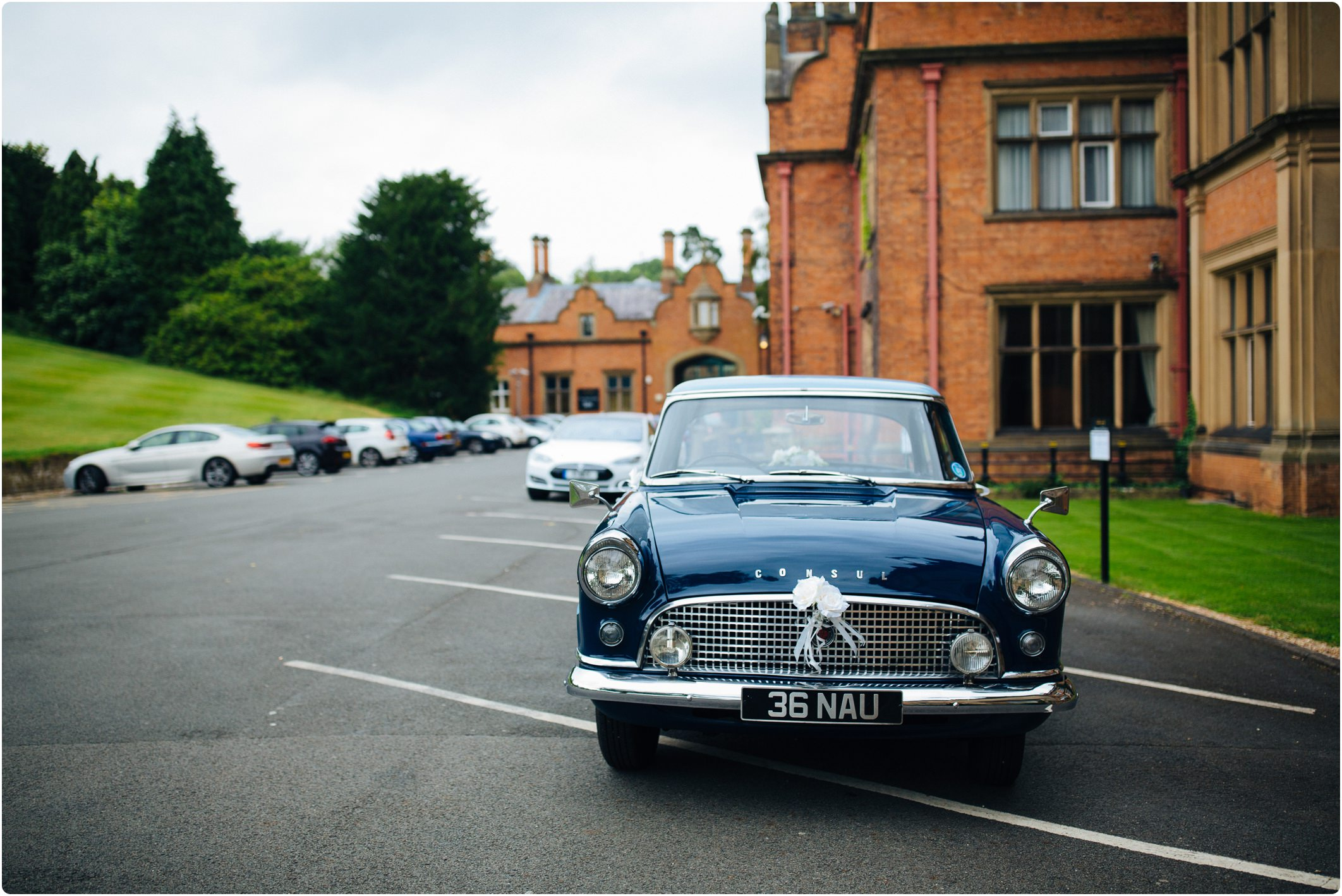 ford consul wedding car