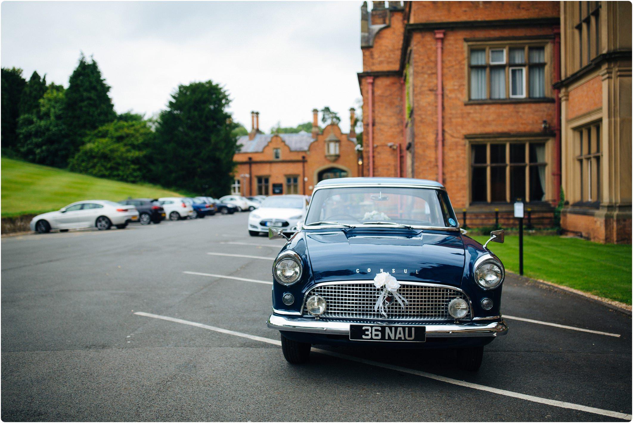 ford consul wedding car