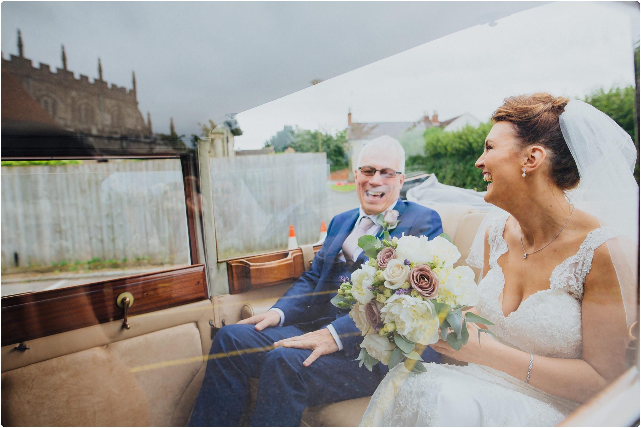 bride and brides father