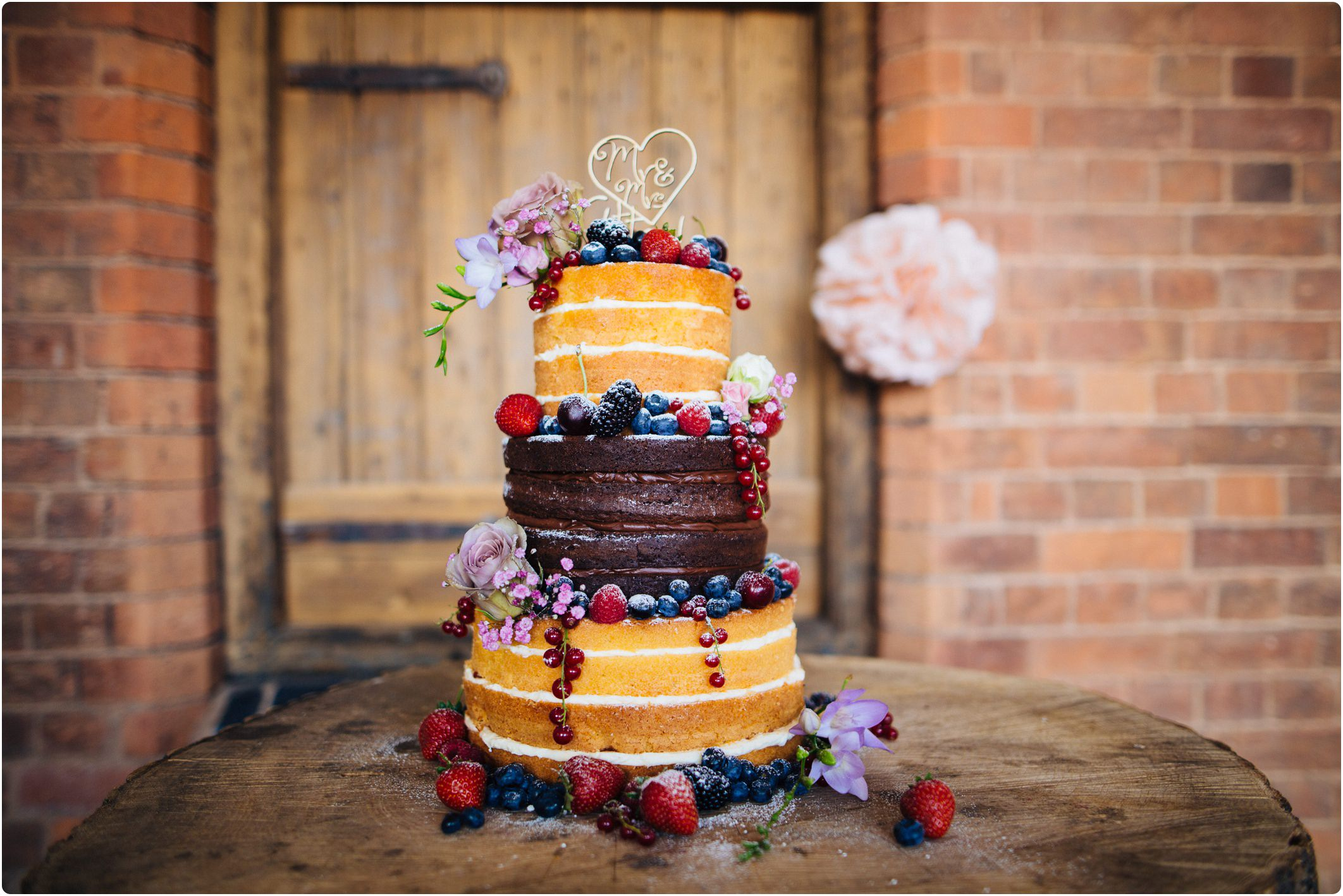 Swallows Nest Barn Naked Cake