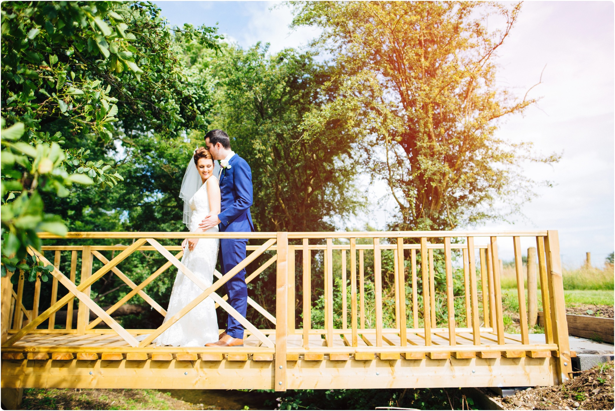 Swallows Nest Barn bridge shot