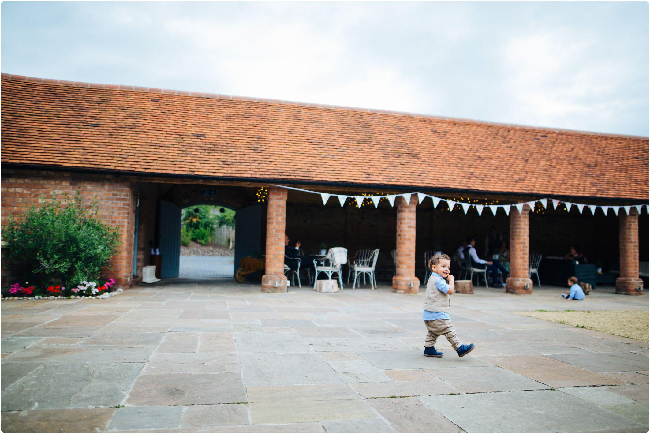 Swallows Nest Barn courtyard