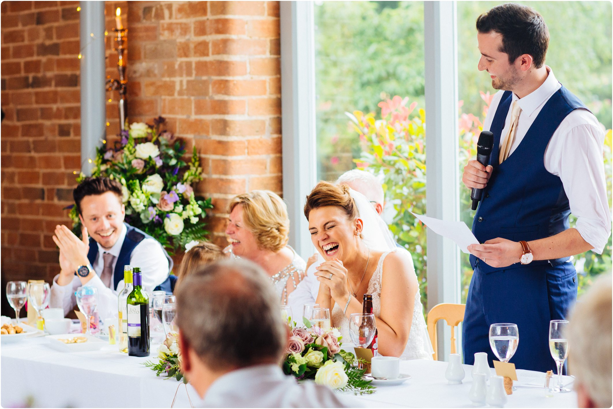 Swallows Nest Barn speeches