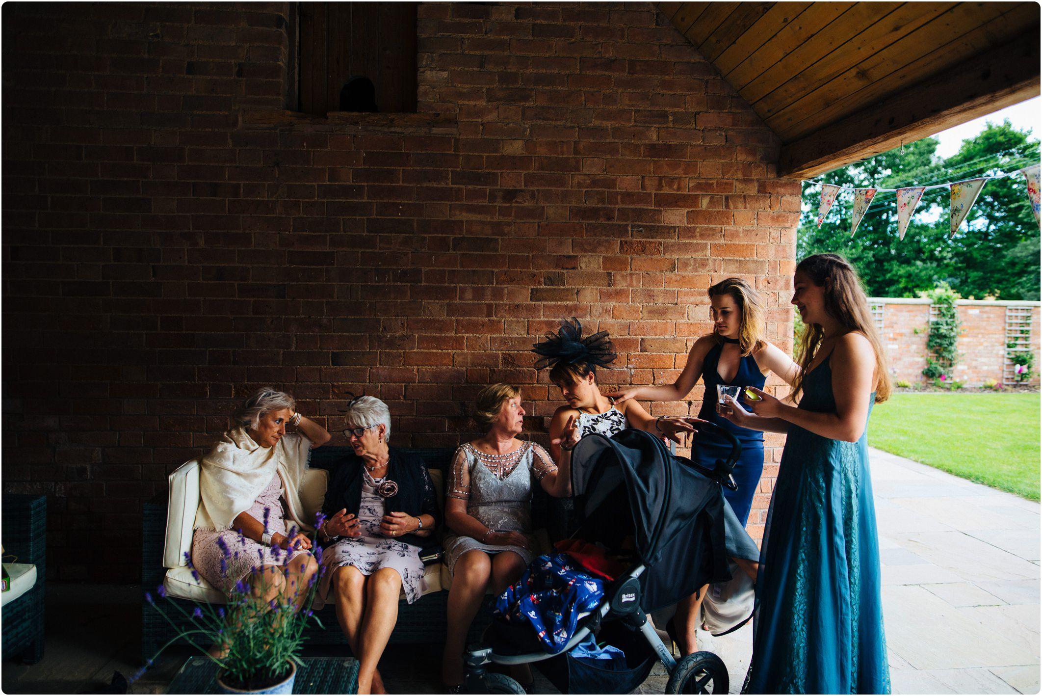 Swallows Nest Barn italian women chatting