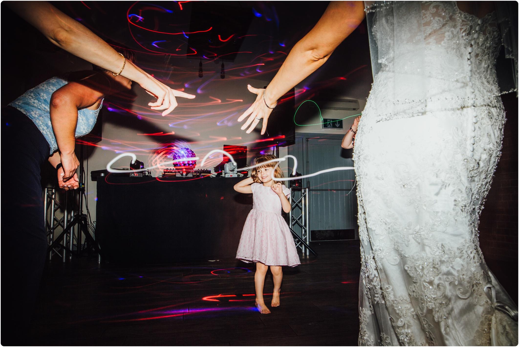 Swallows Nest Barn little girl dancing