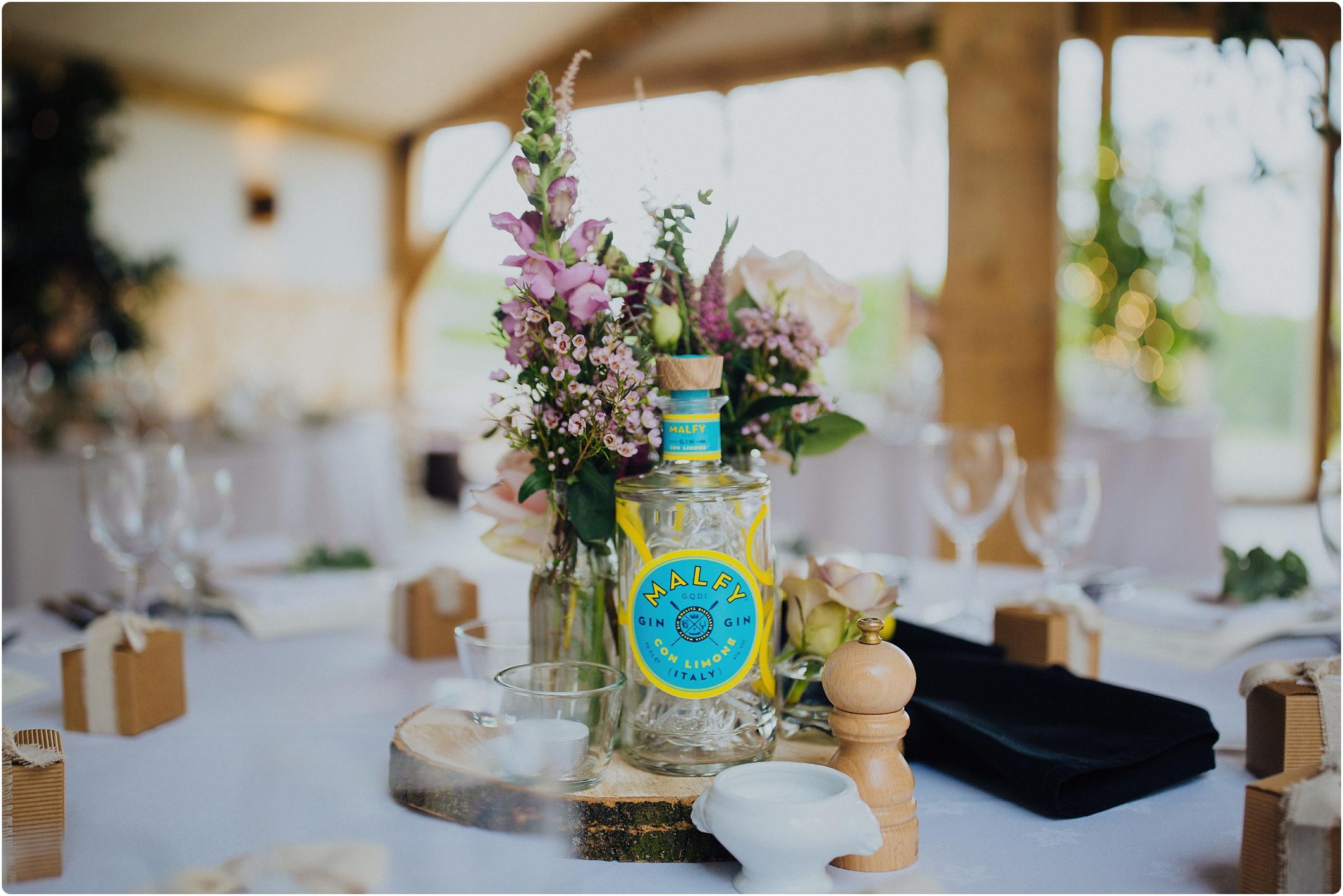gin themed wedding