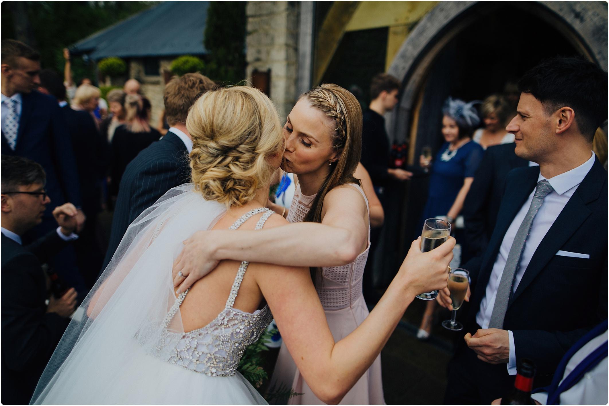 Cripps Barn wedding guests