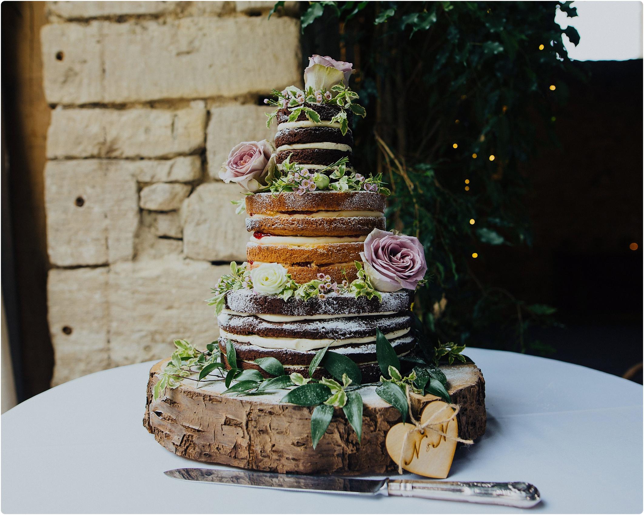 Cripps Barn cake by Rachel naked cake