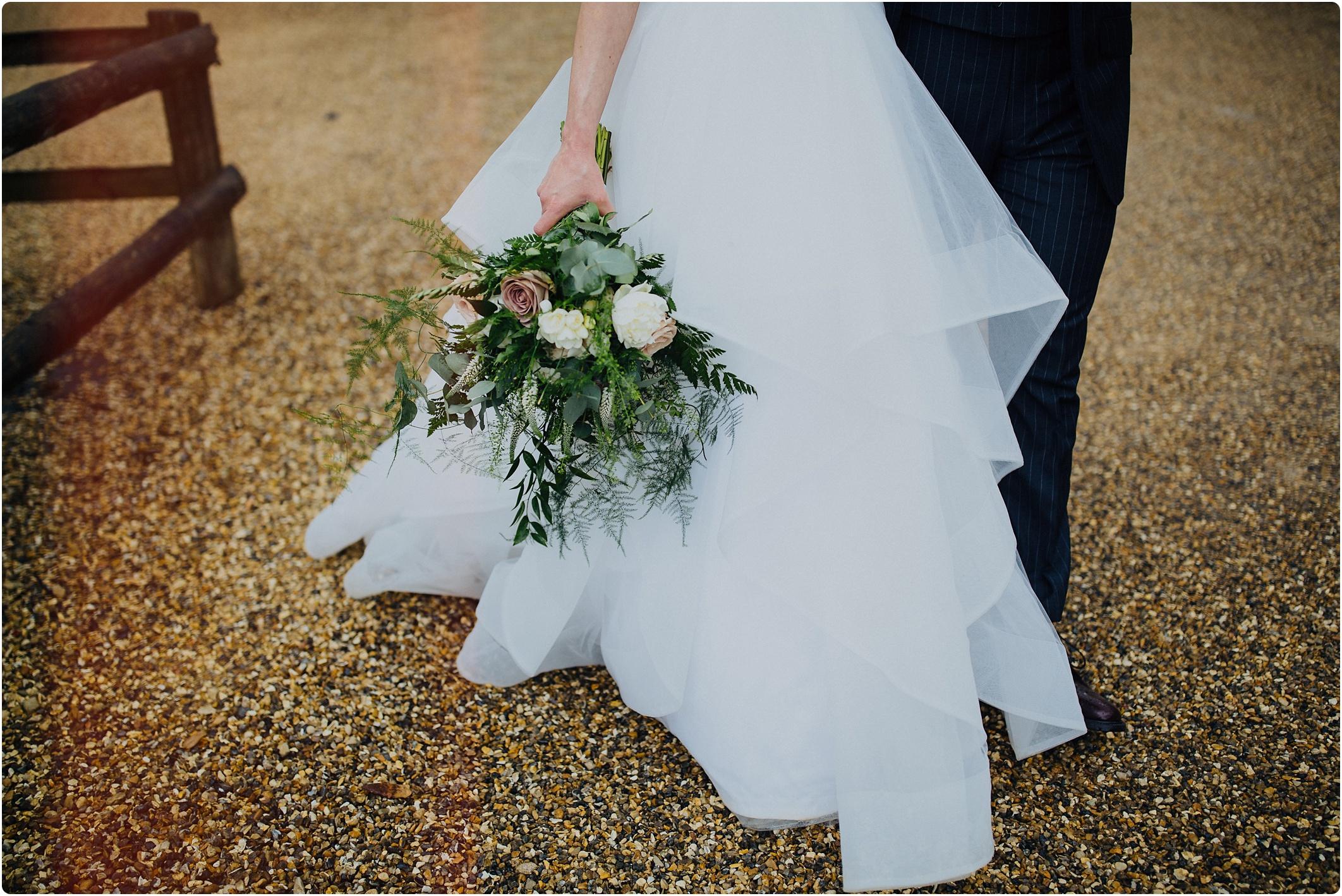 Cripps Barn bouquet by go wild flowers