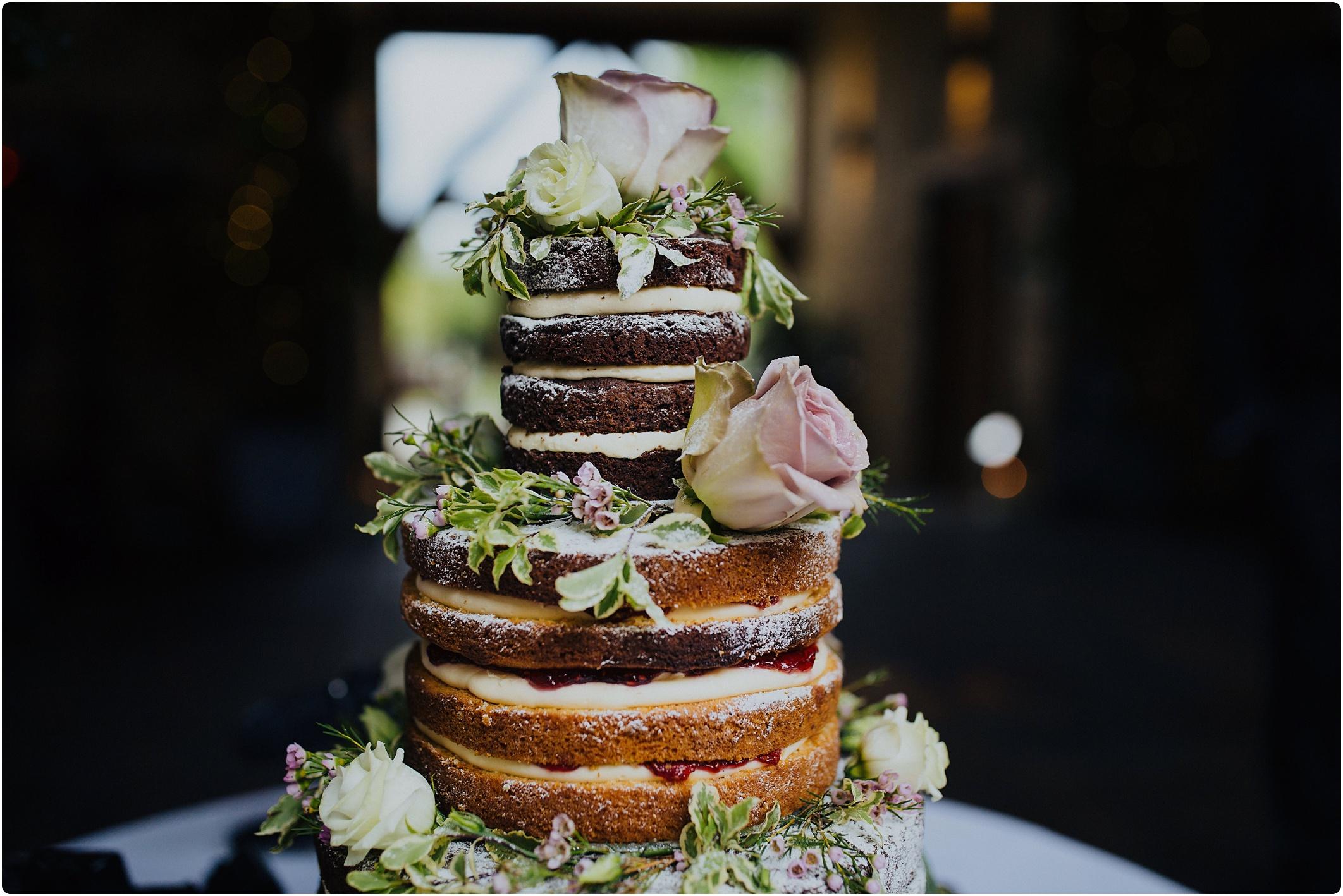 cake by rachel naked cake