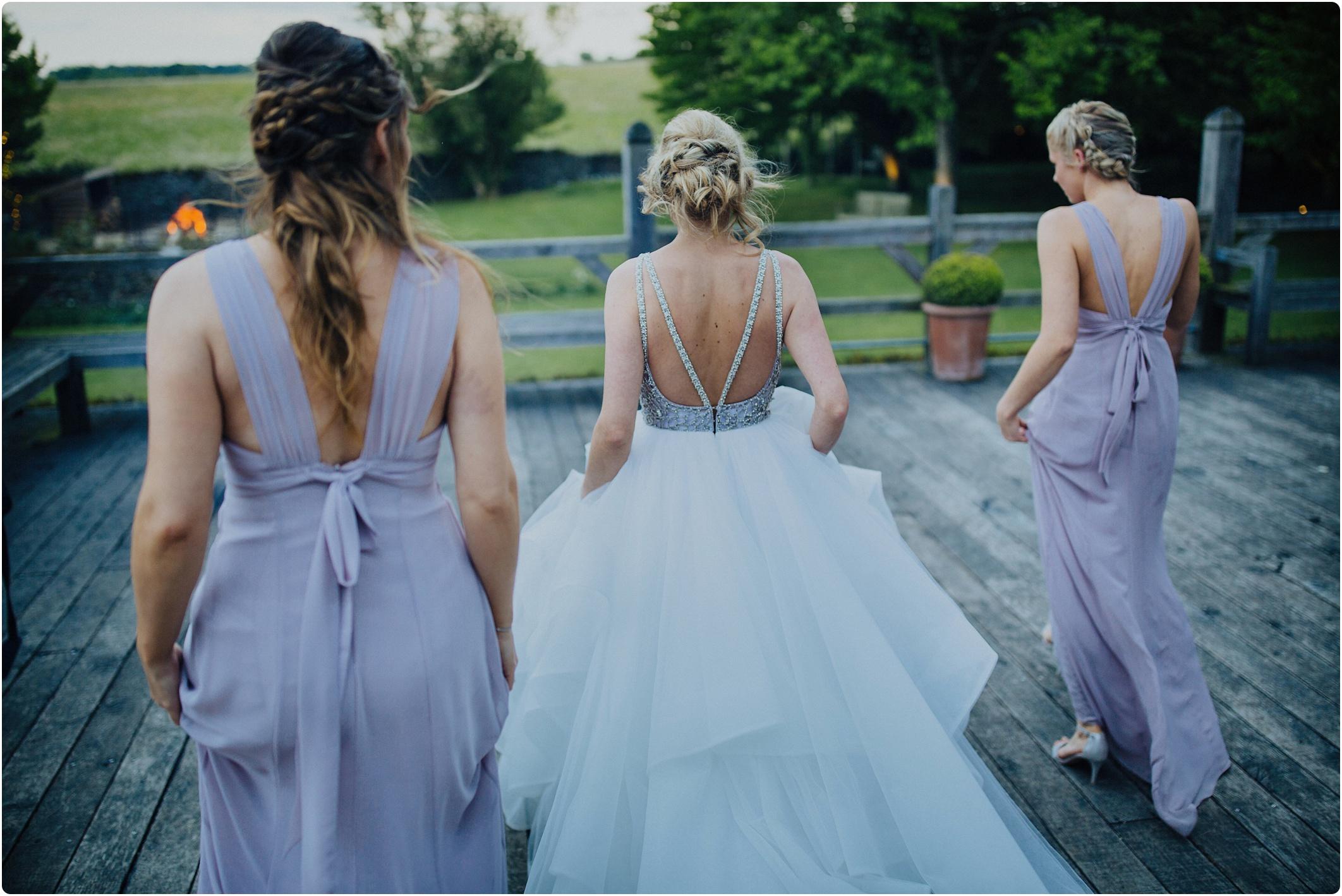 Cripps Barn bride and bridesmaids