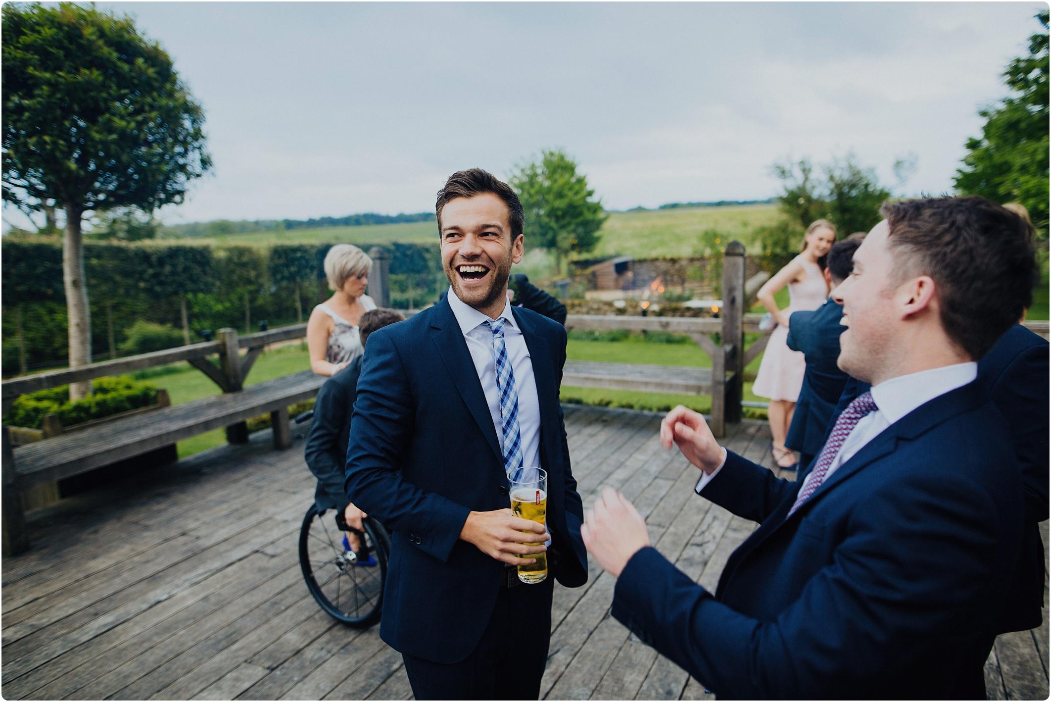 Cripps Barn wedding party