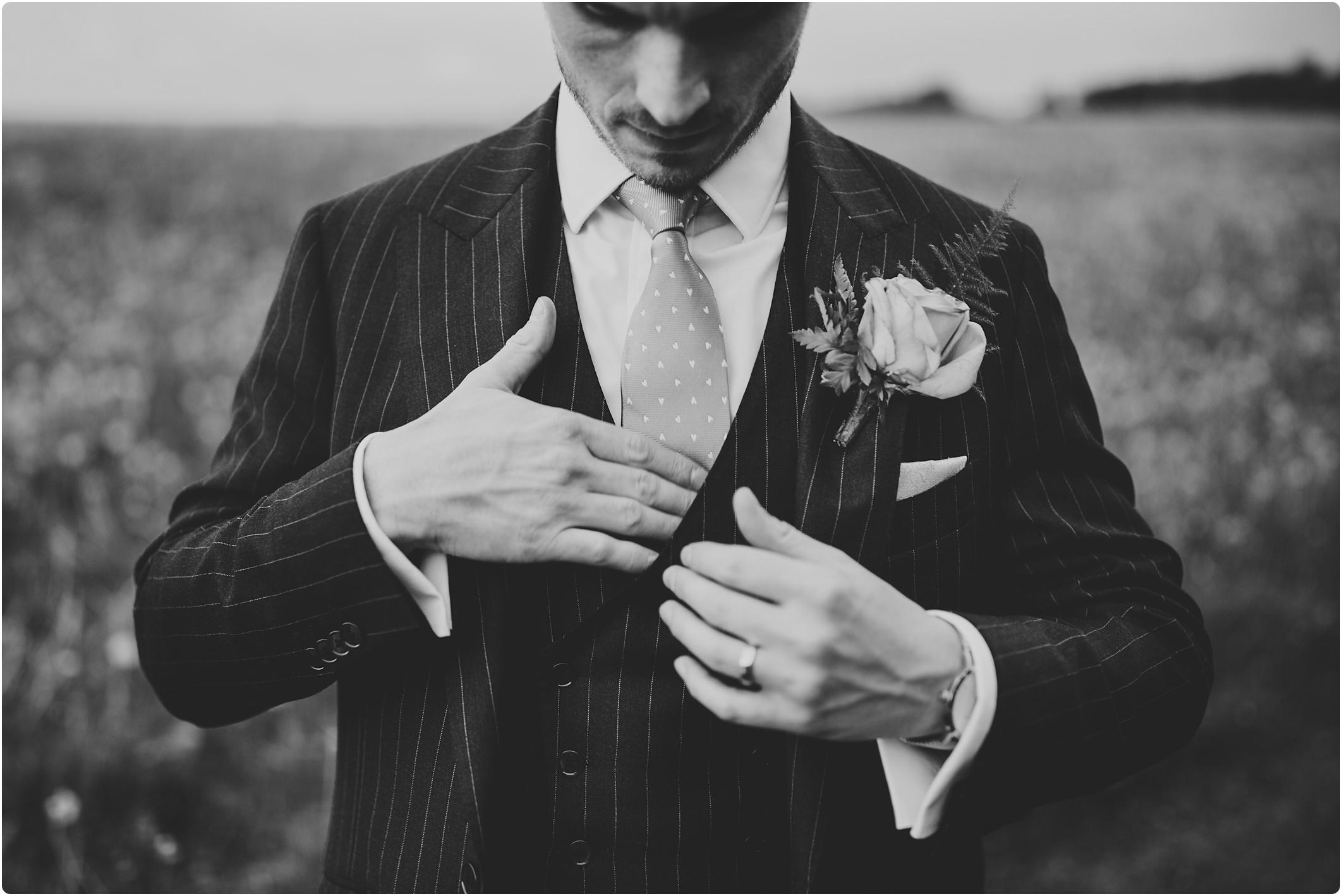 Cripps Barn suit supply pin stripe groom