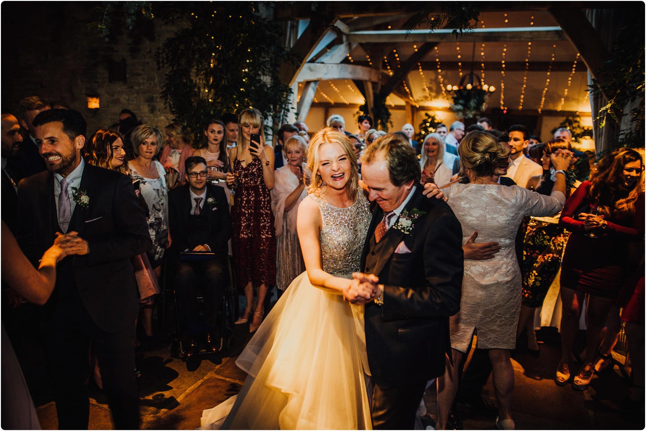 Cripps Barn father of bride dance