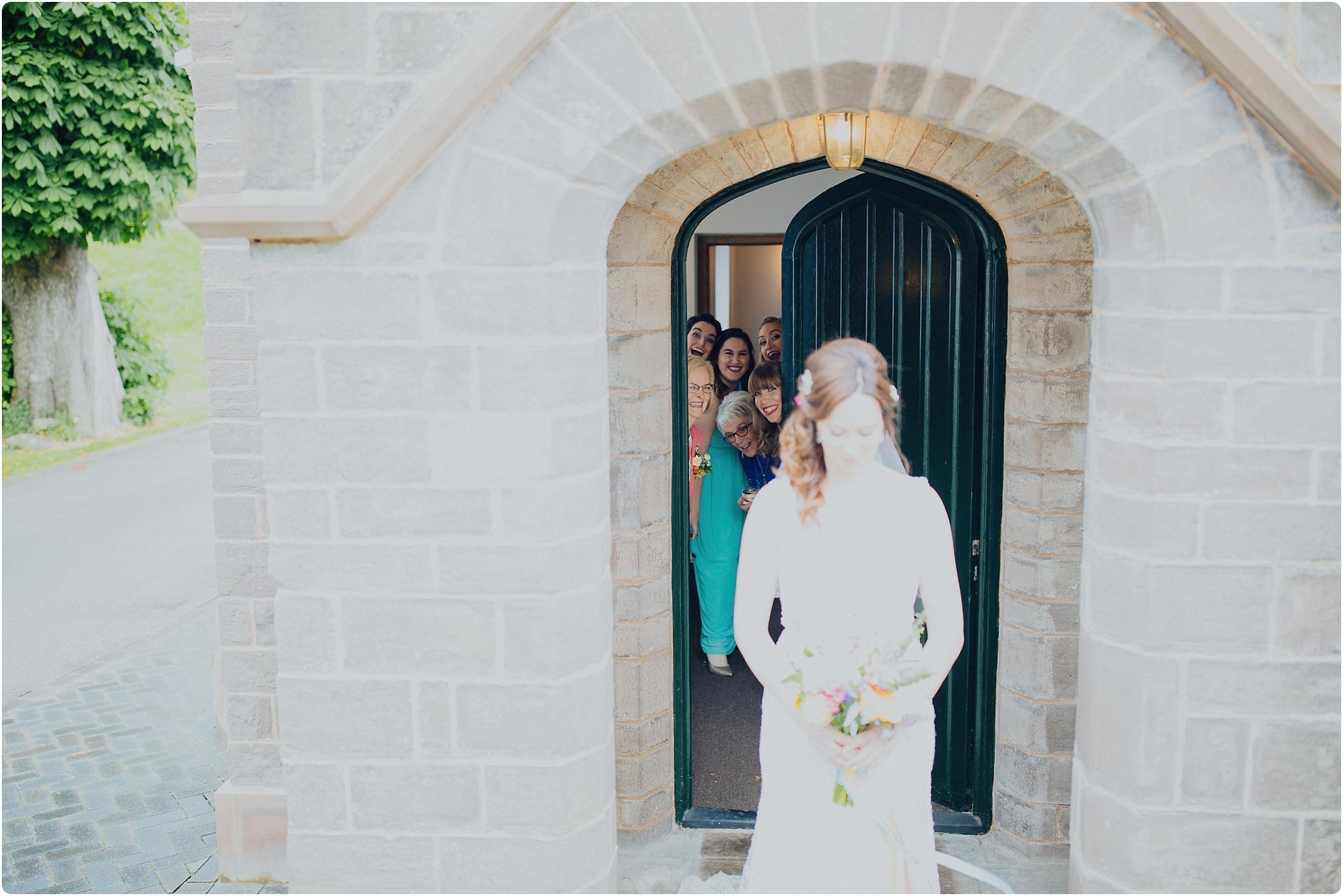 sneaky bridesmaids