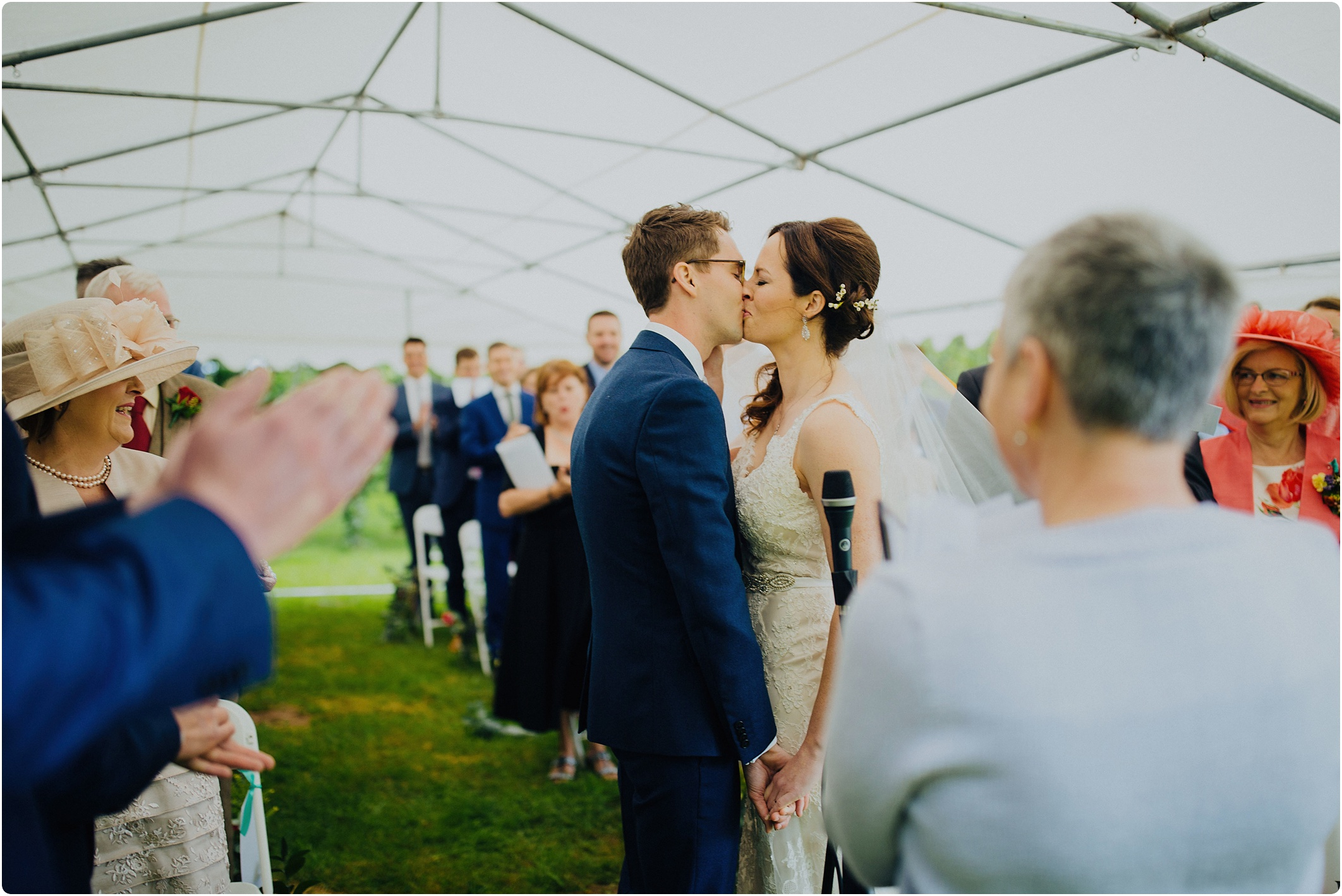 welsh humanist ceremony first kiss