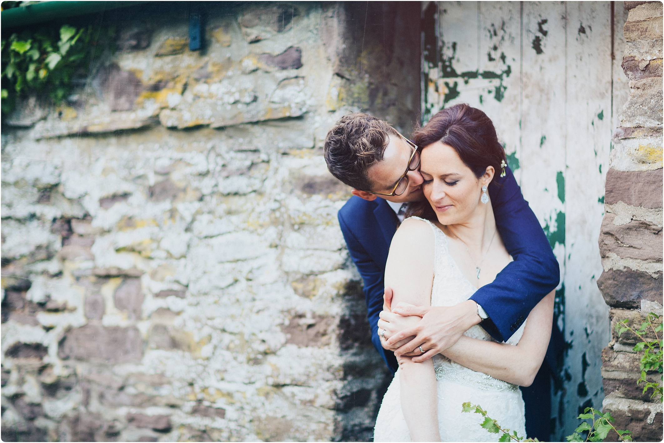 Treadam Barn Wedding couple shots