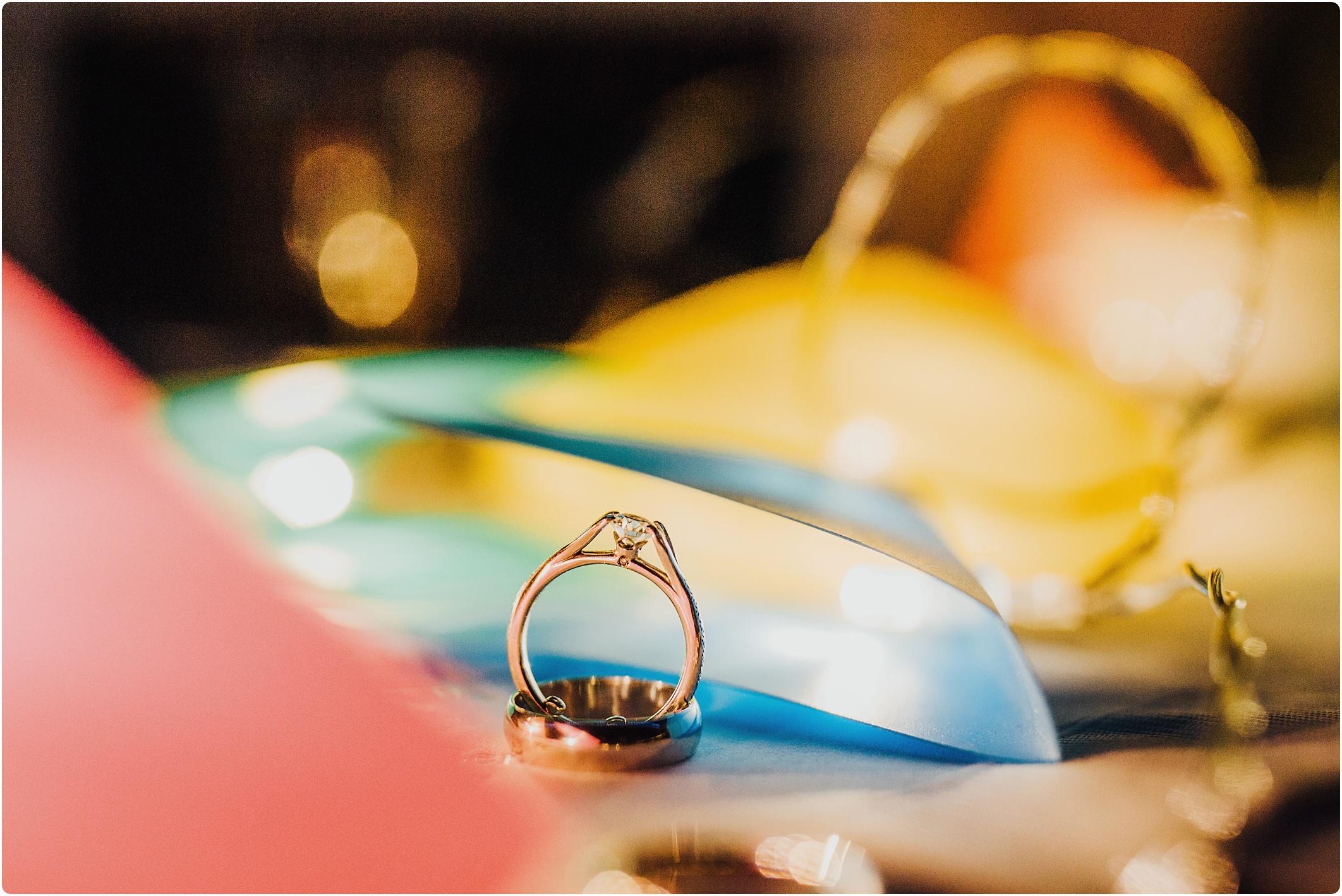 groom designed engagement ring