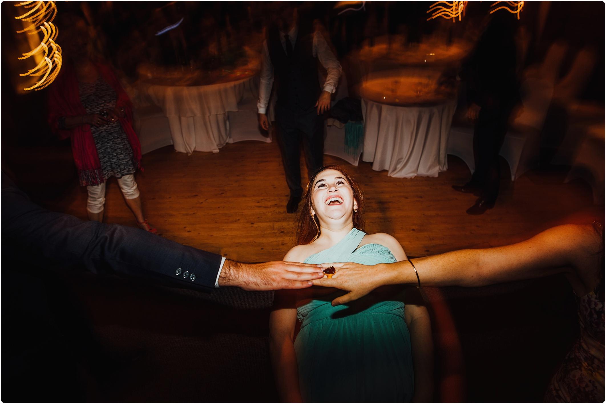 Treadam Barn Wedding night games