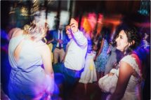 party shots at a kingscote barn wedding