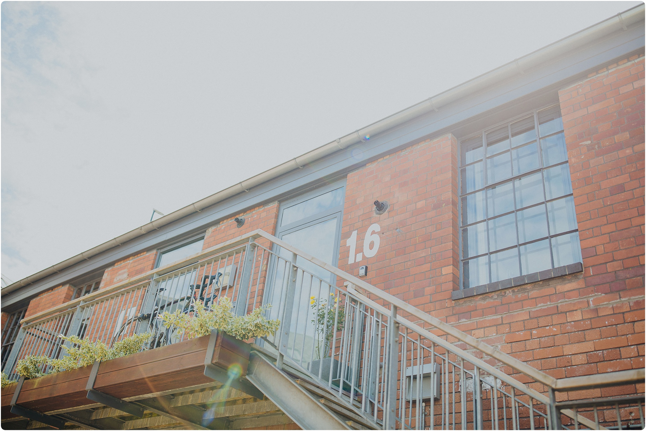 bridal prep apartments at a The Paintworks Wedding