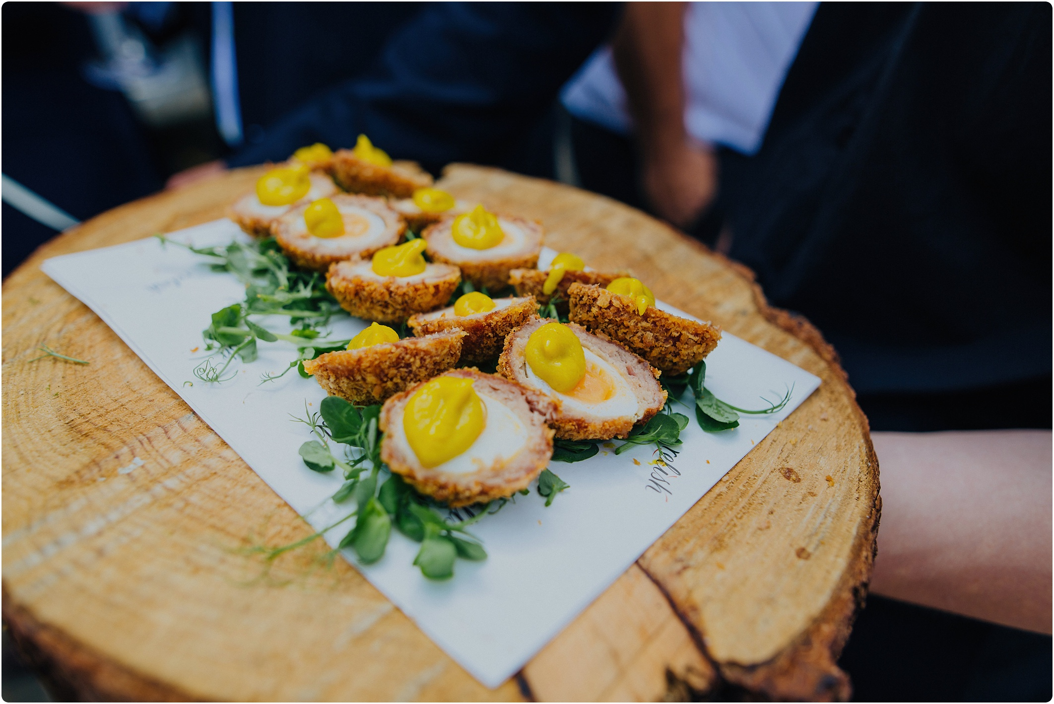 scotch eggs wedding canapés