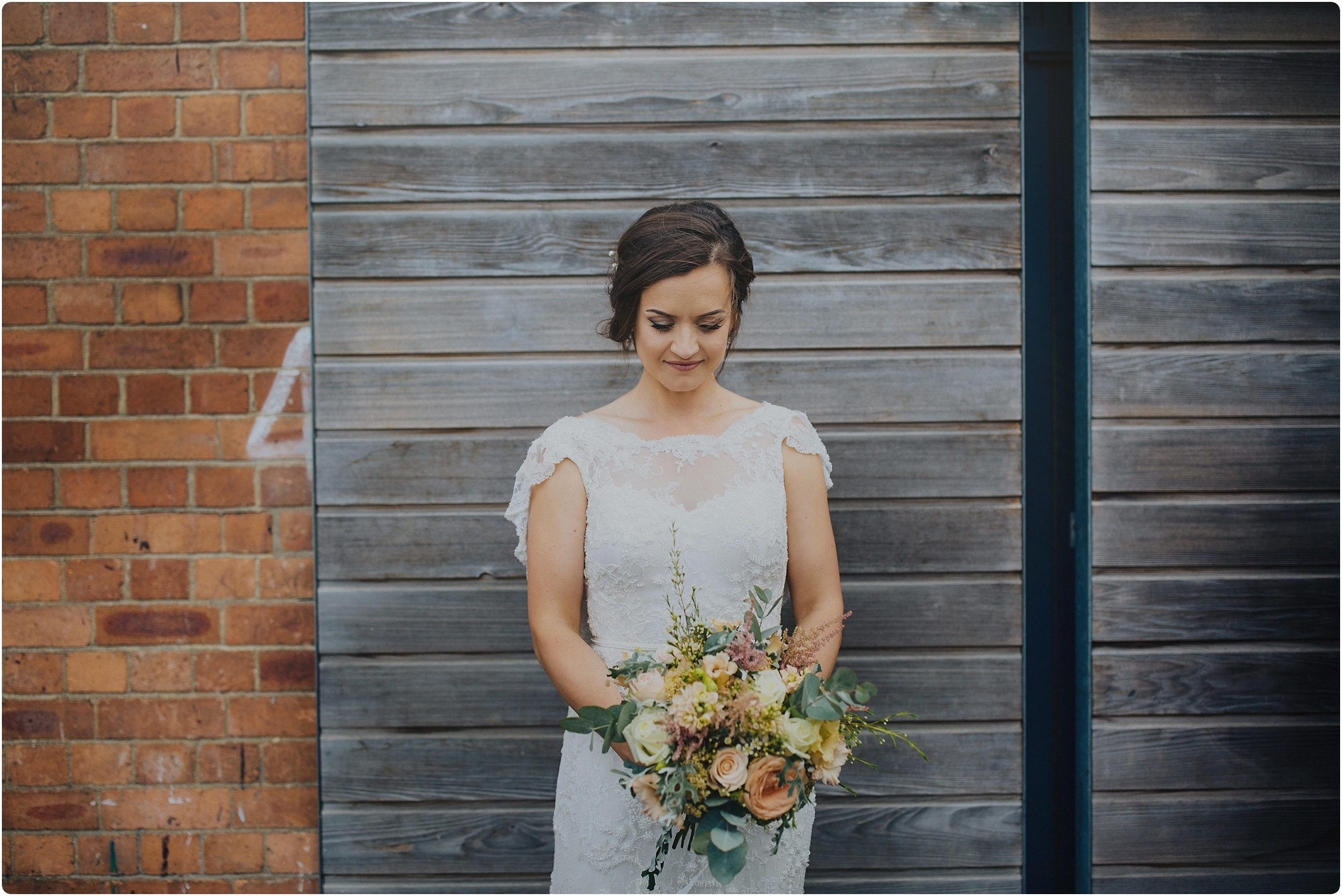 beautiful bride at The Paintworks Wedding