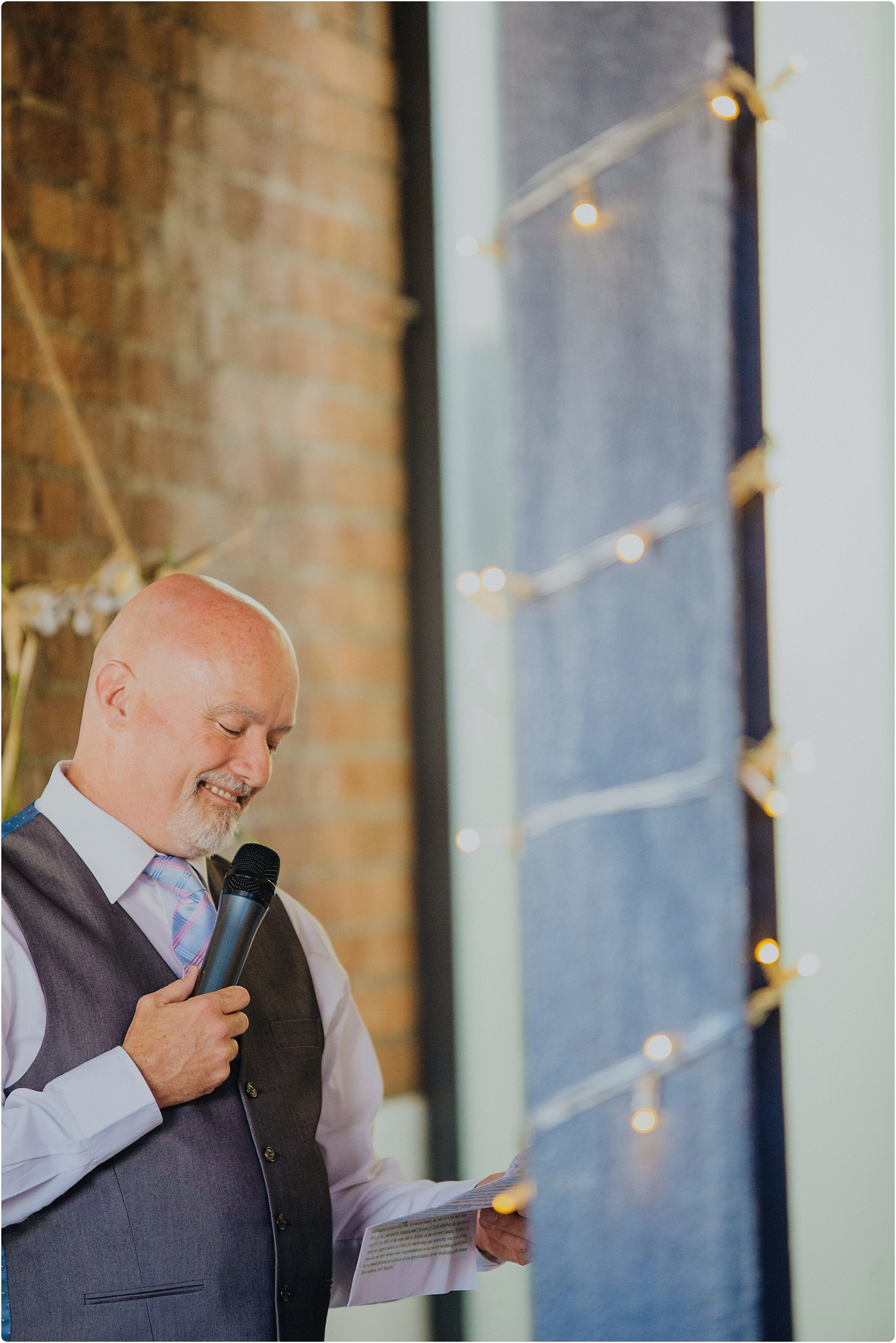 father of bride speech at The Paintworks Wedding