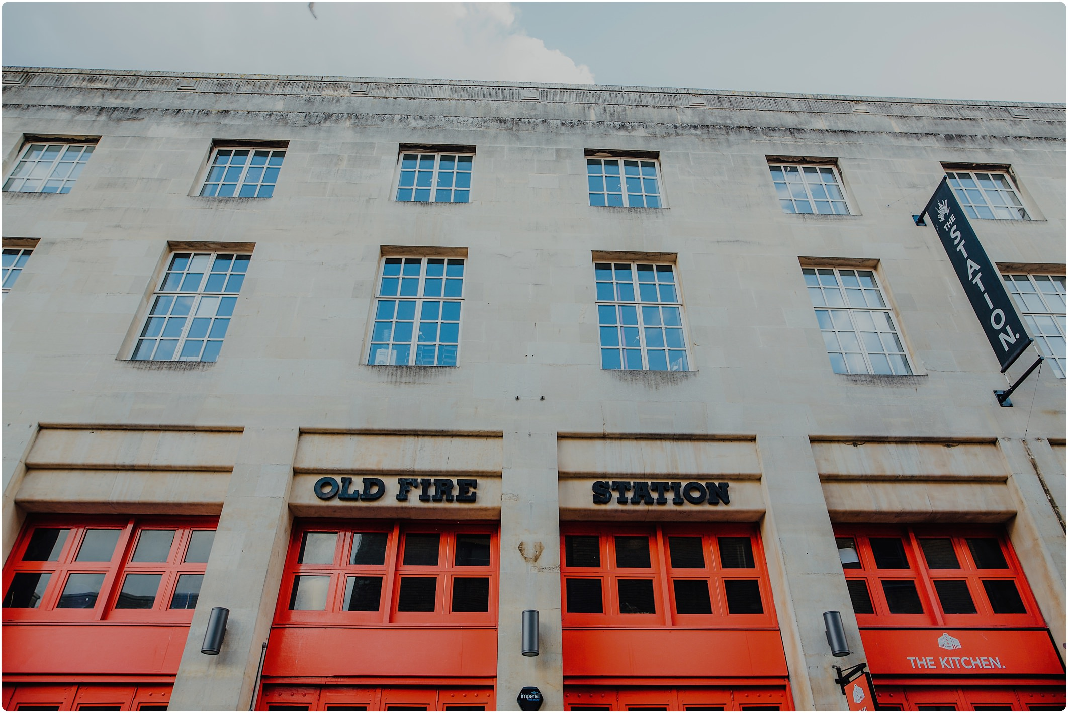 old fire station in Bristol