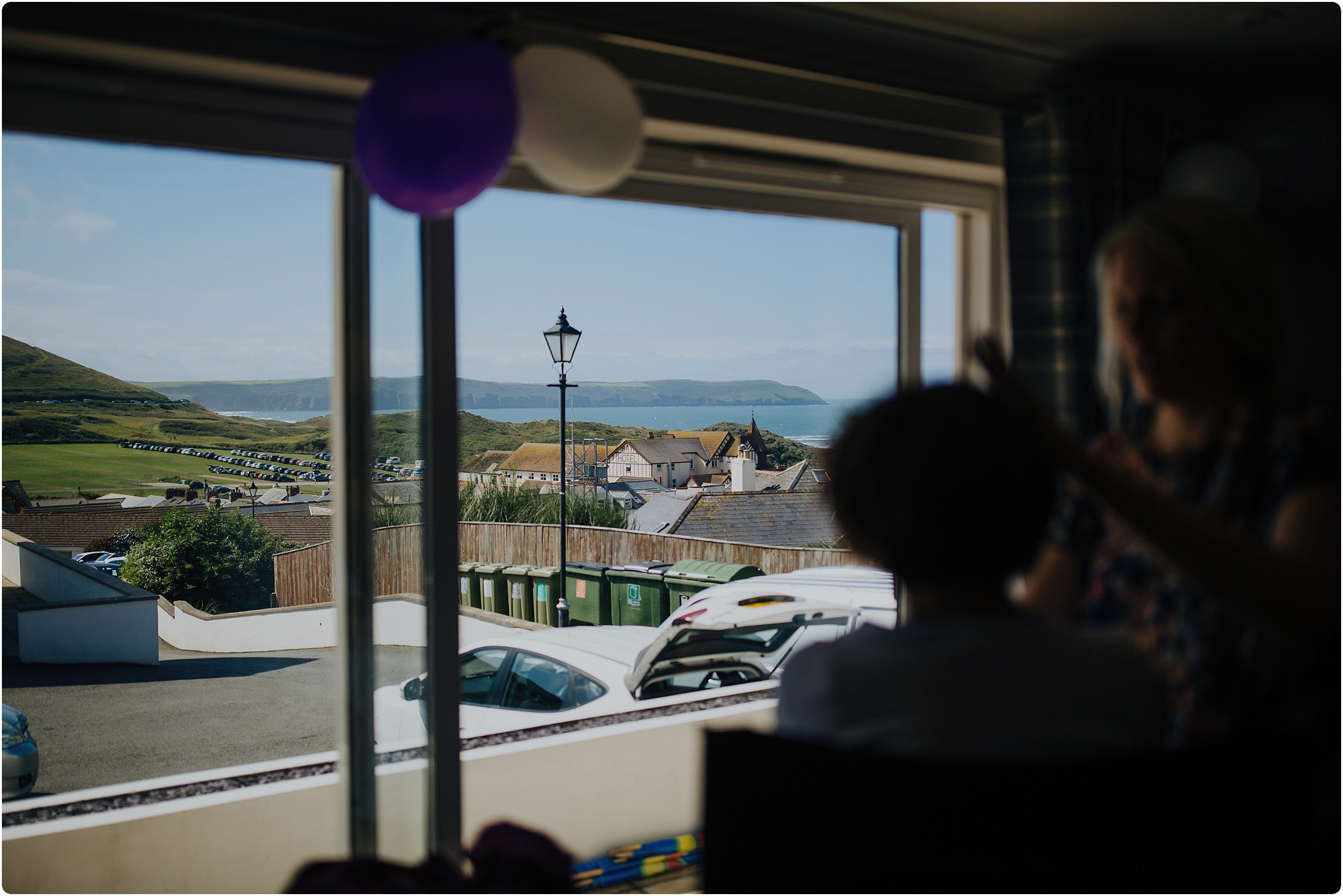 woolacombe bay apartments bride getting ready