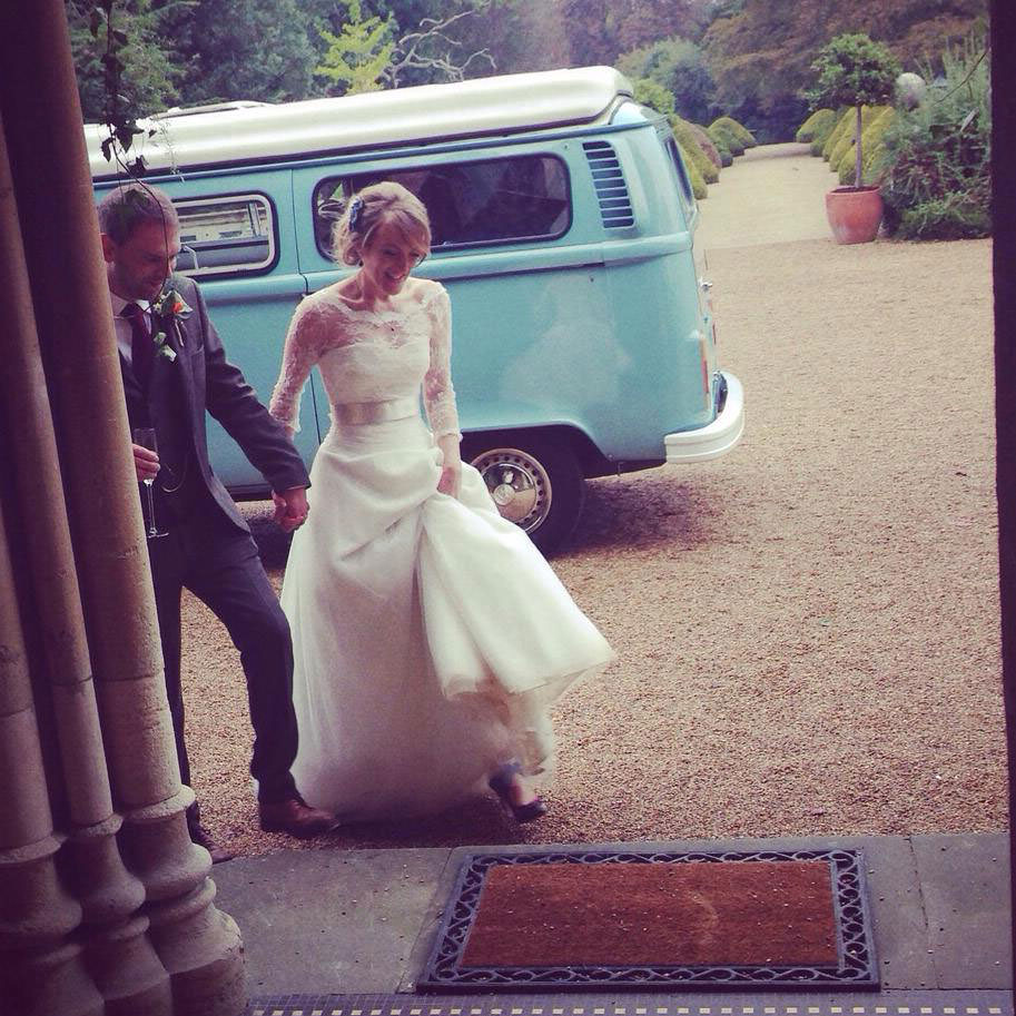 naomi hudson from lush imaging on her wedding day