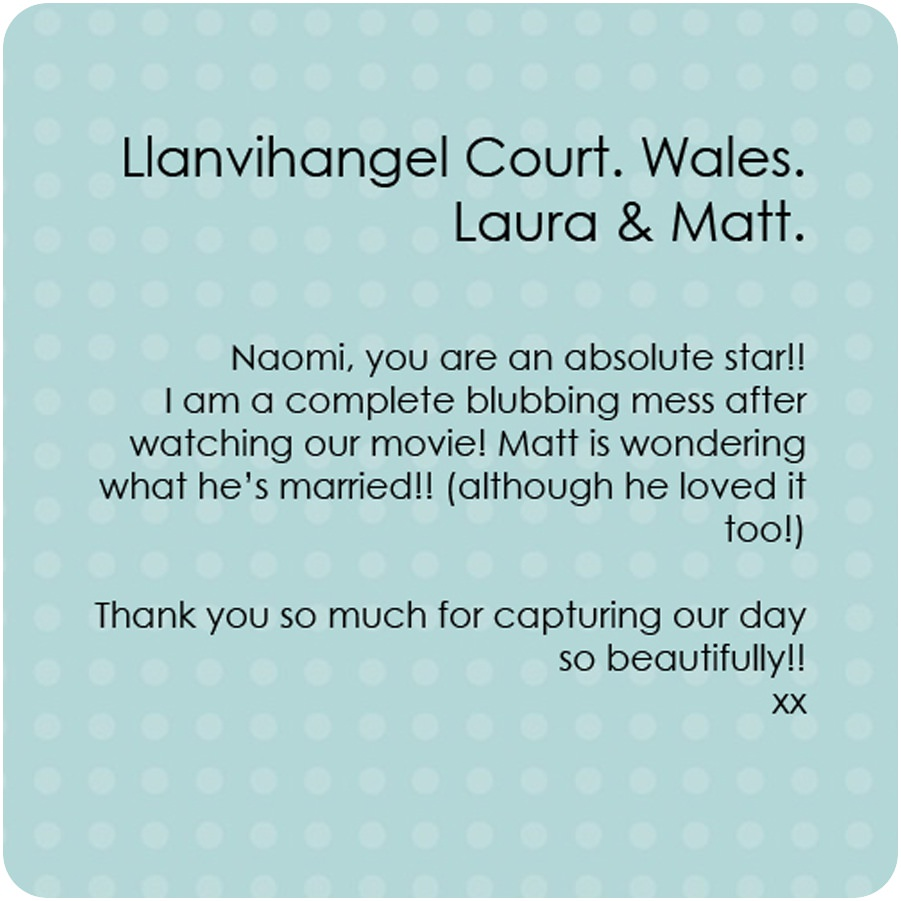 lush imaging review for llanvihangel court