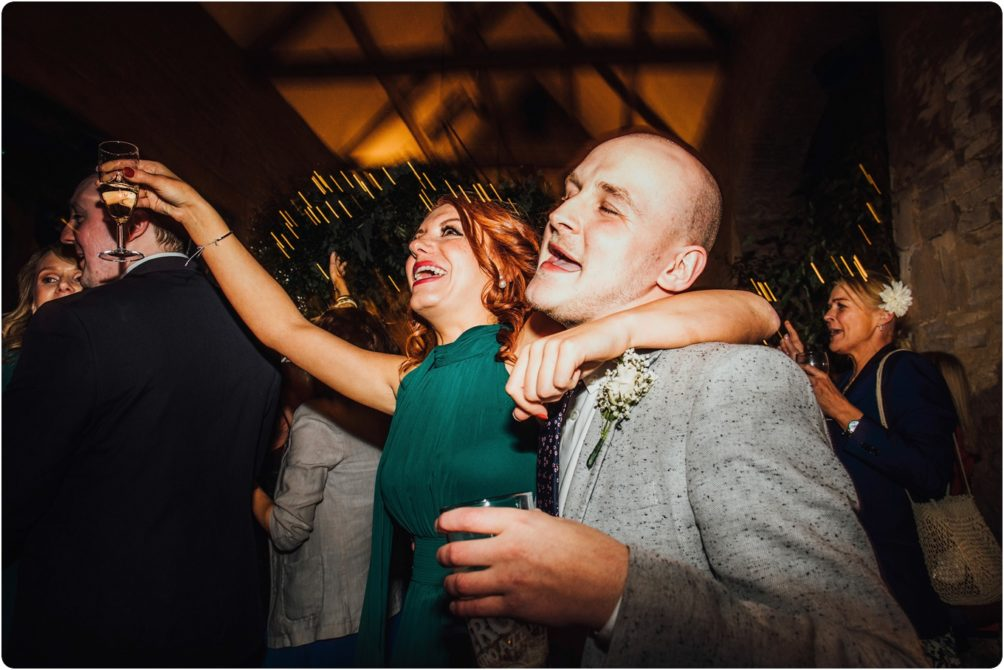 dancing at a Stone Barn wedding