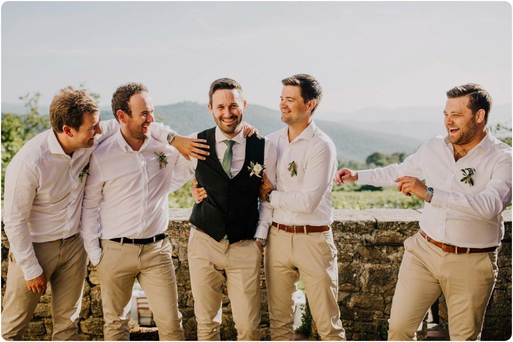 grooms men montelucci wedding