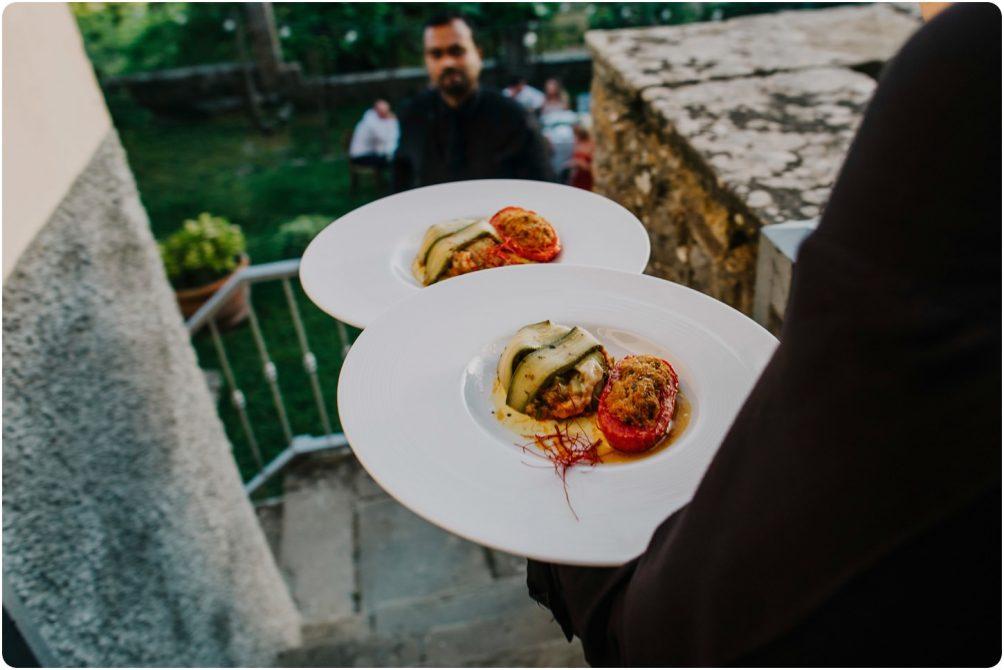 starters at montelucci wedding