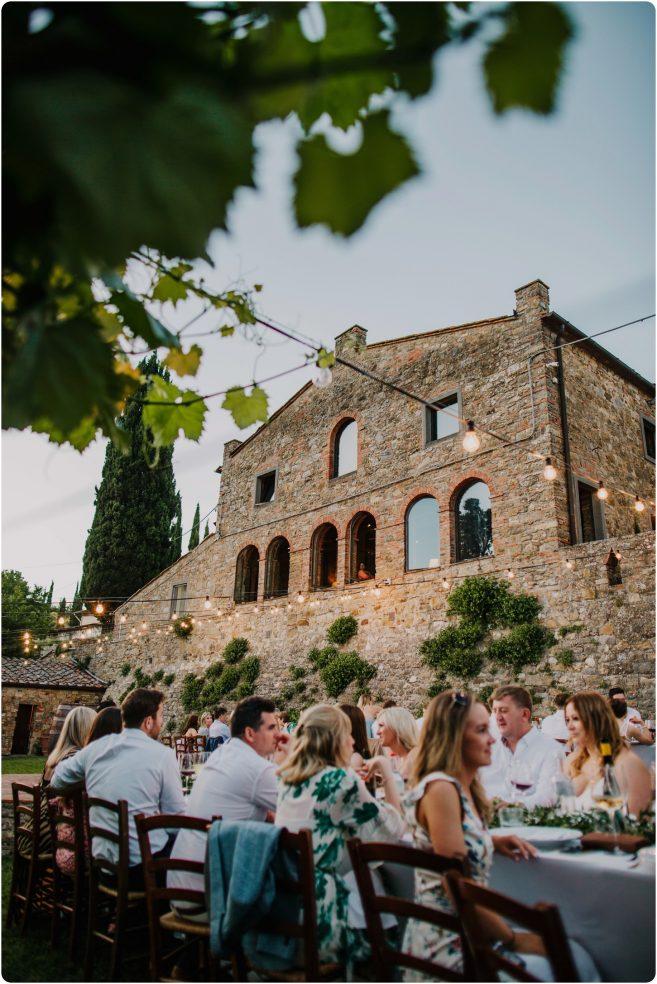 evening dinner at montelucci wedding